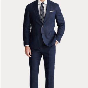 NWT Ralph Lauren Men's 2 Piece Garment Suit Navy 38 REG 32 W